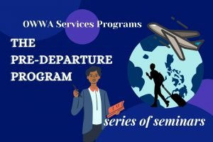 Read more about the article Pre-Departure Registration and Orientation Seminars