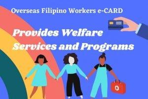 OFWs – Overseas Filipino Workers eCARD  – OWWA