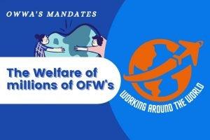 What are OWWA's mandates?