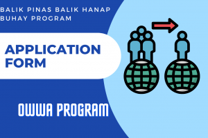 Balik Pinas Balik Hanapbuhay Program Application Form Online