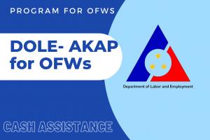 DOLE -AKAP Program Guide – Online Registration – Application
